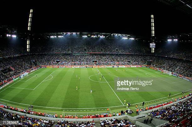 A general view taken during the FIFA World Cup Germany 2006 Group G match between Togo and France at the Stadium Cologne on June 23 2006 in Cologne...