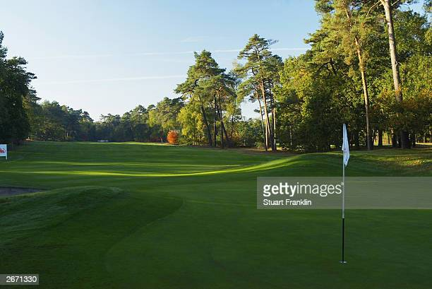 General view taken during the final round of The Dutch Open held on October 12 2003 at Hilversumsche Golf Club in Hilversum Holland