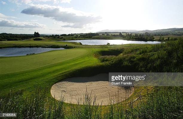 General view taken during the second round of The Diageo Championships held on June 20 2003 at the PGA Centenary Course in Gleneagles Scotland