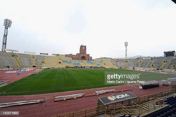 General view taken during the Serie A match between Bologna FC and US Citta di Palermo at Stadio Renato Dall'Ara on April 1, 2012 in Bologna, Italy.