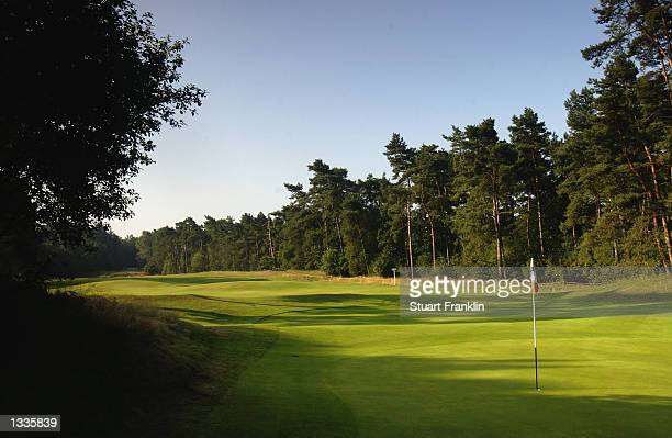 General View taken during the third round of the TNT Dutch Open held at the Hilversumsche Golf Club in Hilversum Holland on July 27 2002