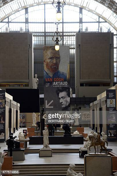 General view taken inside the Orsay Museum during the Van Gogh exhibition at the Orsay Museum on March 10 2014 in Paris AFP PHOTO / BERTRAND GUAY