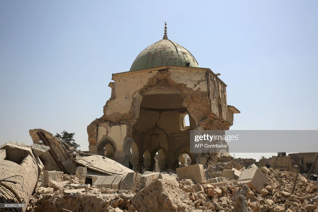 IRAQ-CONFLICT-MOSQUE : News Photo