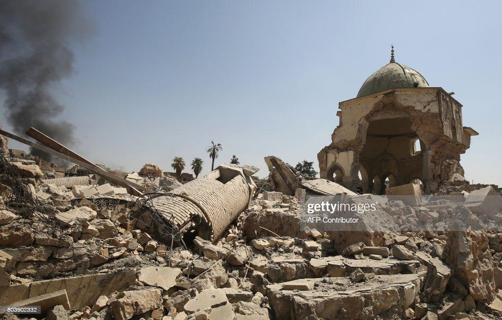 IRAQ-CONFLICT-MOSQUE : News Photo