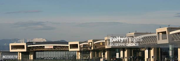 A general view taken on March 13 2008 shows the Terminal 1 at Malpensa Airport north of Milan The province of Milan intends to propose that SEA the...