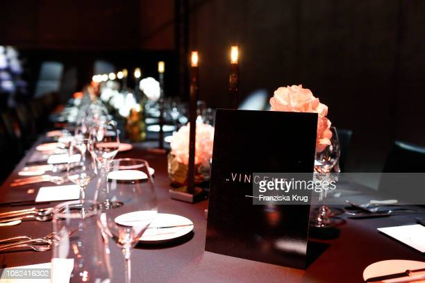 General view the Dom Perignon 'The Legacy' on October 17 2018 in Munich Germany