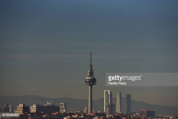 A general view through smog of Madrid skyline Air pollution continues in the city of Madrid It is reaching dangerous levels for human health by the...