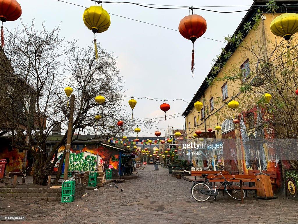 Freetown Christiania In Copenhagen, Denmark : Nachrichtenfoto