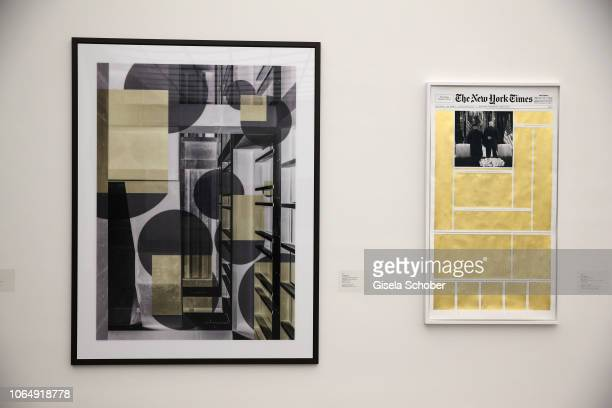 A general view work of art during the PIN Party at Pinakothek der Moderne on November 24 2018 in Munich Germany