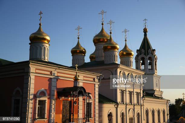 General views around the city ahead of the 2018 FIFA World Cup on June 13 2018 in Nizhny Novgorod Russia