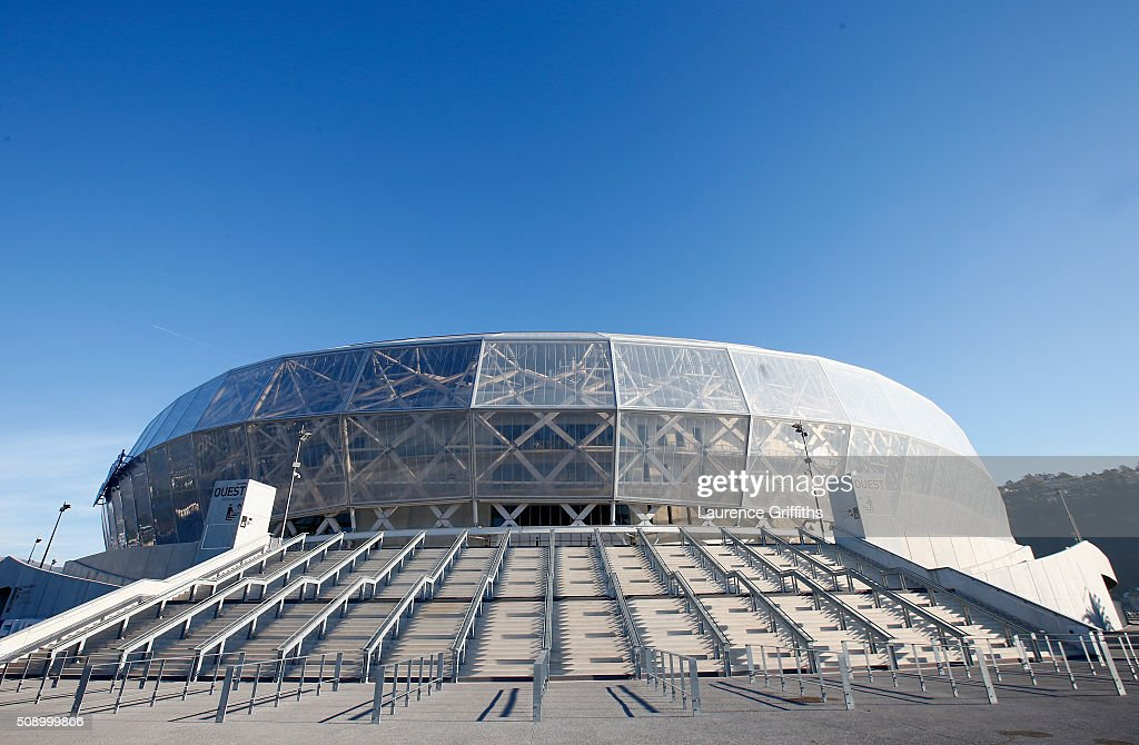 General Views of Allianz Riviera Stadium - UEFA Euro Venues France 2016 : Nachrichtenfoto