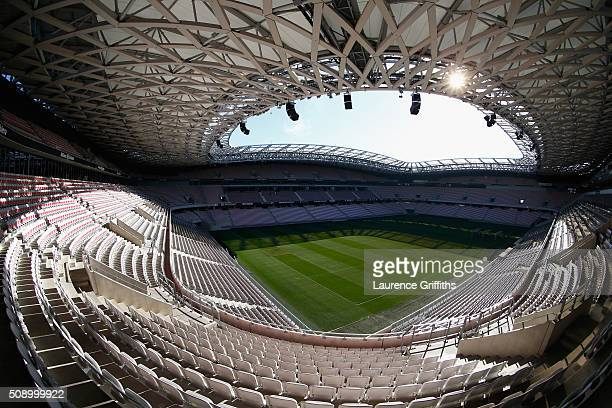 General Views at Allianz Riviera Stadium on February 5 2016 in Nice France