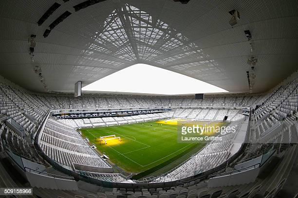 General views at Nouveau Stade de Bordeaux on February 6 2016 in Bordeaux France