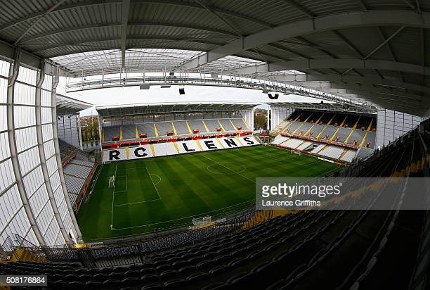 General views at Stade BollaertDelelis on February 2 2016 in Lens France