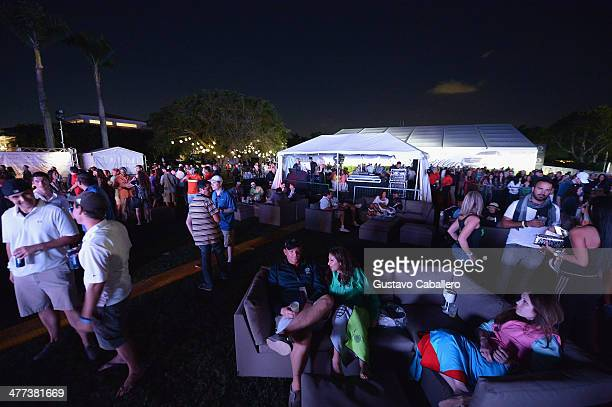 General views at The GREY GOOSE Vodka and the Cadillac Championship Toast Travie McCoy at Trump National Doral on March 8 2014 in Doral Florida