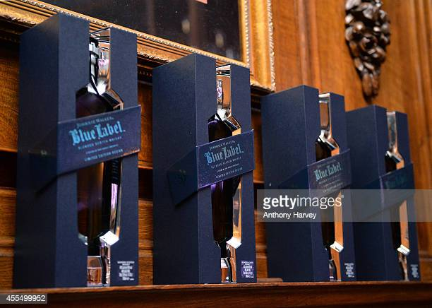 General views at Whisky Nightcap for JOHNNIE WALKER BLUE LABEL Presents SYMPHONY IN BLUE on September 15 2014 in London England