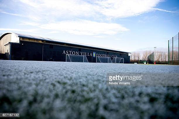 General Views during a Aston Villa training session at the club's training ground at Bodymoor Heath on December 02, 2016 in Birmingham, England.