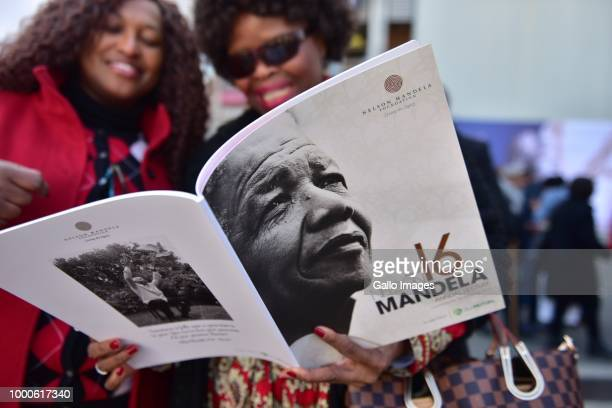 General views during the 16th annual Nelson Mandela lecture at Wanderers Stadium on July 17 2018 in Johannesburg South Africa The lecture in...