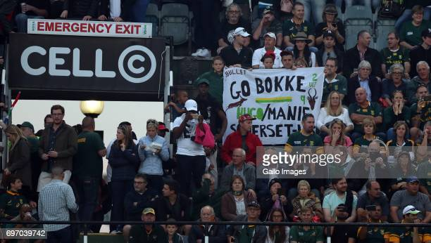 General views during the 2nd Castle Lager Incoming Series Test match between South Africa and France at Growthpoint Kings Park on June 17 2017 in...