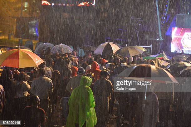 General views during the 7th annual Maftown Heights 2016 concert at the Mary Fritzgerald Square on November 25 2016 in Johannesburg South Africa...