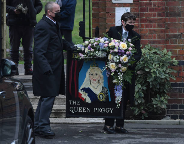 GBR: The Funeral Of Dame Barbara Windsor