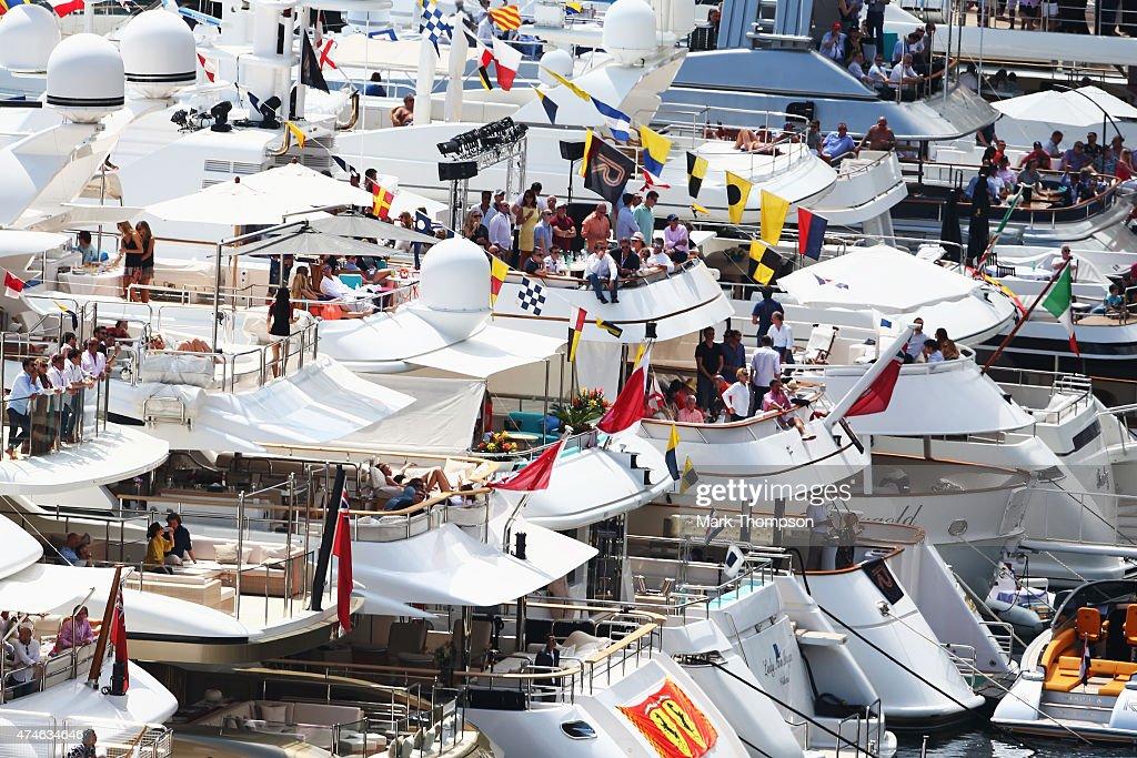 General views during the Monaco Formula One Grand Prix at Circuit de Monaco on May 24, 2015 in Monte-Carlo, Monaco.