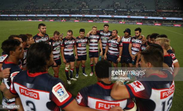General views during the Super Rugby match between Cell C Sharks and Rebels at Growthpoint Kings Park on April 22 2017 in Durban South Africa
