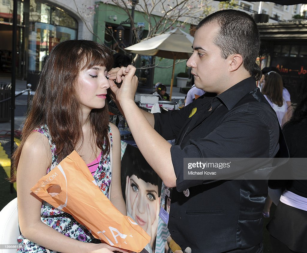 General views of atmosphere at the Katy Perry Lashes created by Eylure Launch Event at The Americana at Brand on February 22, 2012 in Glendale, California.