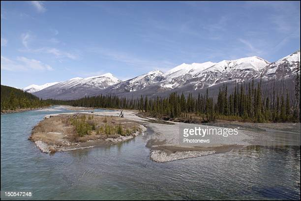 General views of Banff National Park in the province of Alberta on July 31 2012 in Alberta Canada