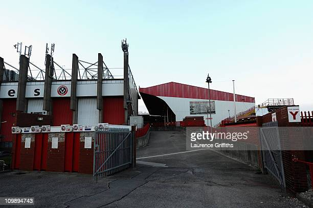General Views of Bramall Lane Stadium prior to the npower Championship match between Sheffield United and Nottingham Forest at Bramall Lane on March...
