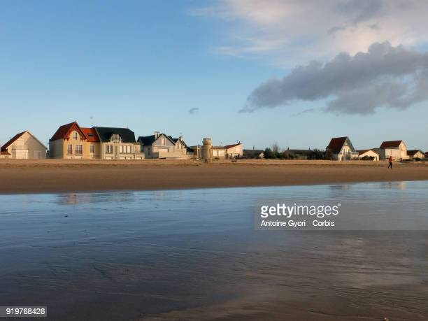 General Views Of Chatelaillon Beach Atlantic Ocean on December 27 2017 in Chatelaillon France