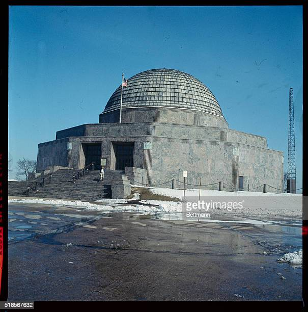 General views of Chicago's Adler Planetarium