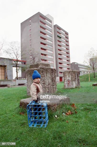 General views of Ferrier housing estate in Kidbrooke Greenwich South London 20th November 1988
