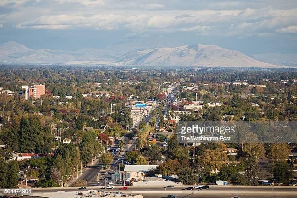 FRESNO CA NOVEMBER 16 General views of Fresno California