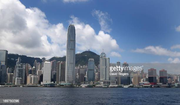 General views of Hong Kong Harbour on May 31 2013 in Hong Kong
