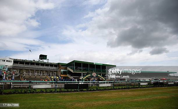 General views of Newcastle Racecourse on June 29 2013 in Newcastle upon Tyne England