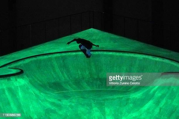 General views of OooOoO the skatepark by Koo Jeong A at Triennale Milano on November 28 2019 in Milan Italy