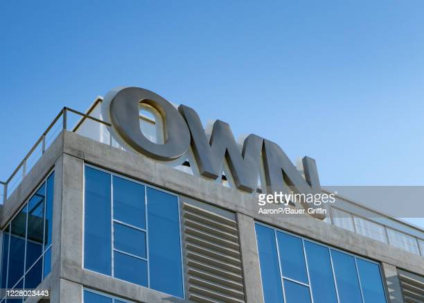 General views of OWN the Oprah Winfrey Network headquarters at The Lot studio lot in West Hollywood on August 12 2020 in West Hollywood California
