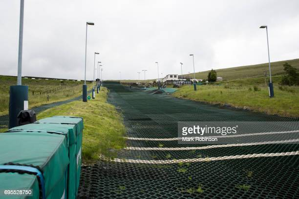 General views of Pendle Ski Club on June 13 2017 in Burnley England