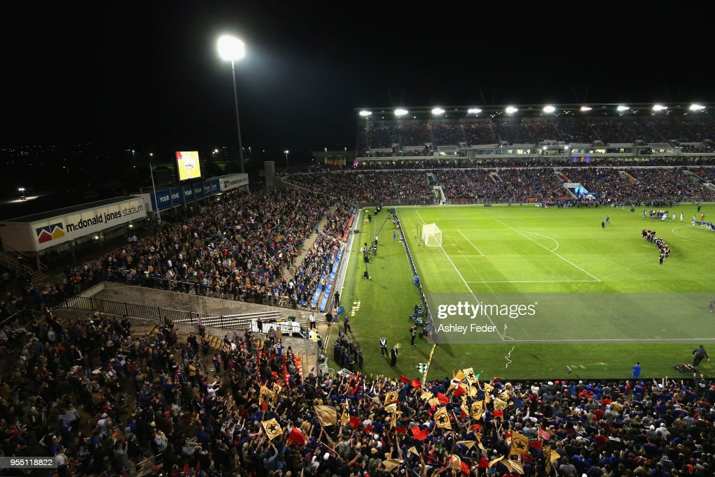 A-League Grand Final - Newcastle v Melbourne : News Photo