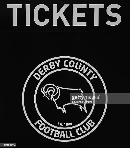 General views of Pride Park Stadium home of Derby County on March 23 2011 in Derby England