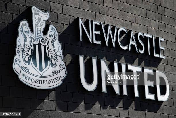 General views of St James' Park, home of Newcastle United on August 20, 2020 in Newcastle, United Kingdom.