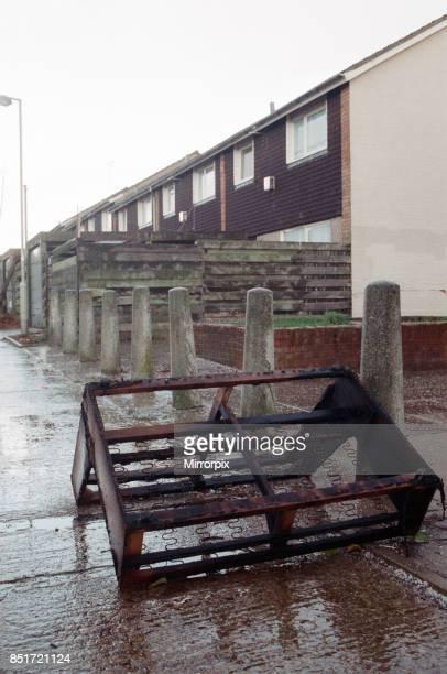 General views of Stanhope Estate ashford Kent 20th November 1988