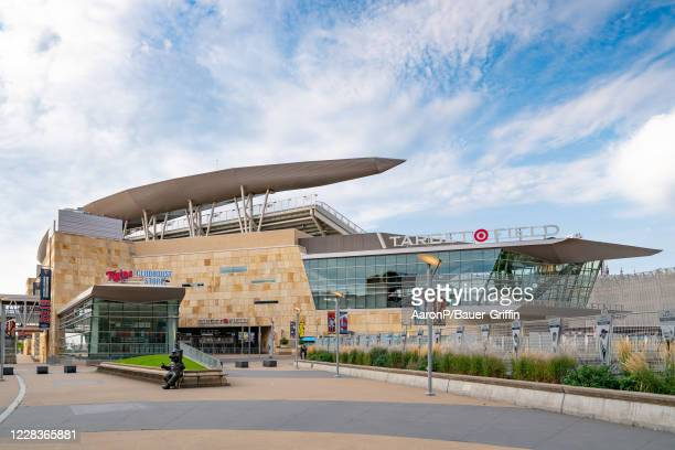 General views of Target Field, home of the Minnesota Twins on September 05, 2020 in Minneapolis, Minnesota.