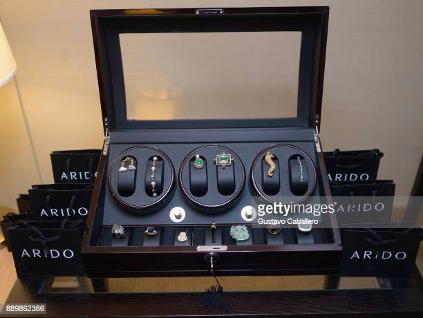 General views of the ARIDO Jewelry Presenting ROCK 6X and ELEVE Art Basel Miami 2017 at Conrad Hotel on December 10 2017 in Miami Florida