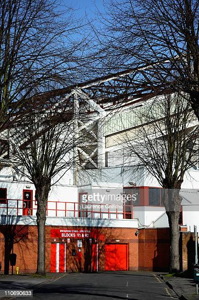 General views of The City Ground home of Nottingham Forest on March 22 2011 in Nottingham England