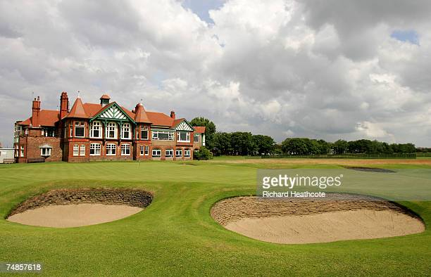 General views of the Clubhouse and the 18th green during The Amateur Championship 2007 at Royal Lytham St Annes on June 22 2007 in Lytham St Annes...