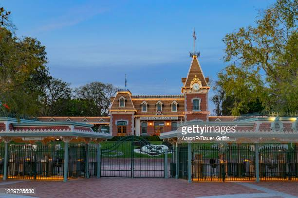 General views of the Disneyland theme park, still closed due to COVID-19 on November 21, 2020 in Anaheim, California.