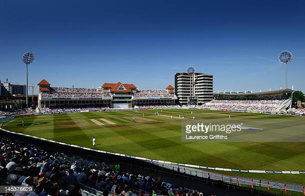 General Views of the ground during the Second Investec Test Match between England and West Indies at Trent Bridge on May 27 2012 in Nottingham England