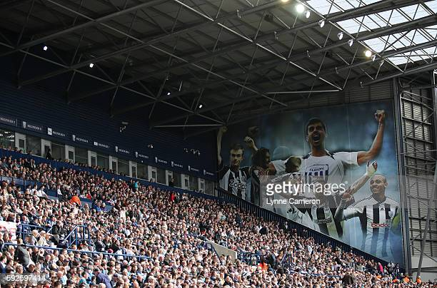 General Views of The Hawthorns during the Premier League match between West Bromwich Albion and Everton at The Hawthorns on August 20 2016 in West...